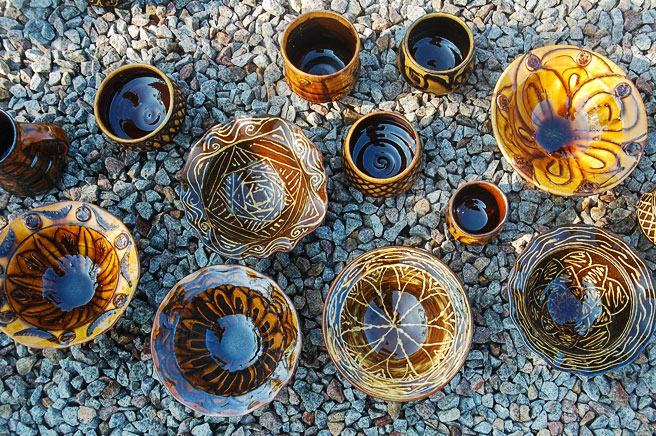 Laurence Eastwood: His New Slipware Pots