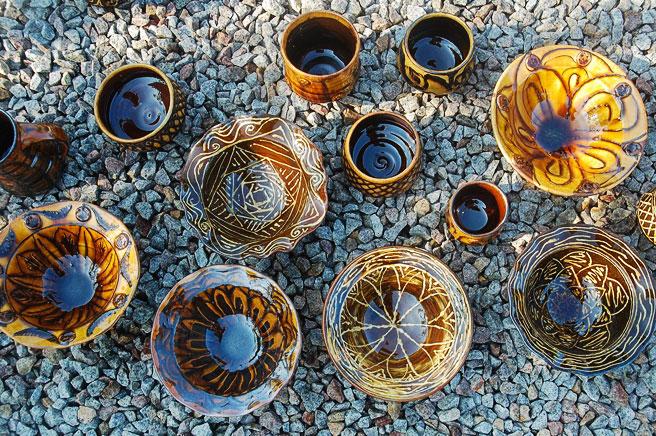 Laurence Eastwood: His New Slipware Pots