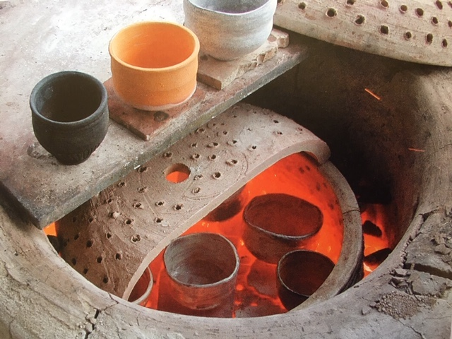 Raku Firing at Leach Pottery